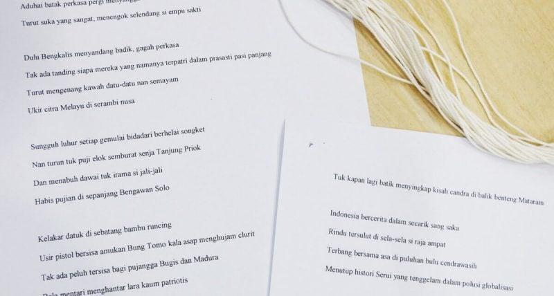 Puisi tentang Indonesia