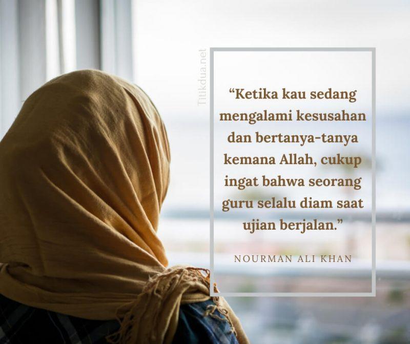 Motto Hidup Islami, Tuhan Selalu Menemani