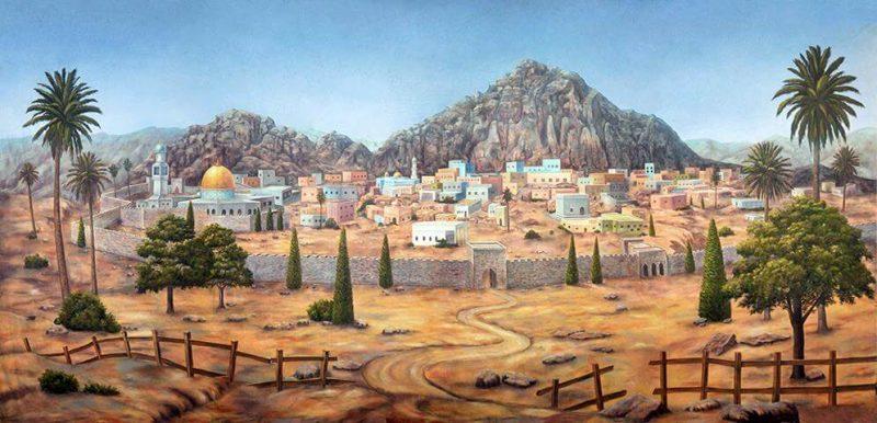 Tempat masa kecil Nabi Sulaiman
