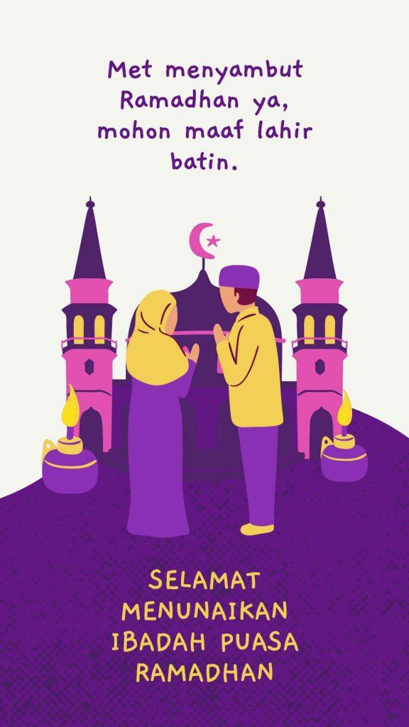 Ucapan maaf menjelang ramadhan (2)
