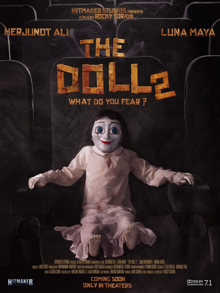 Poster Film The Doll 2