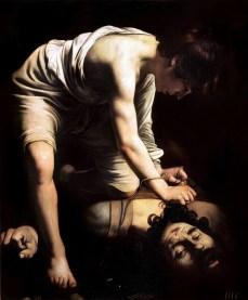 David y Goliat - Caravaggio