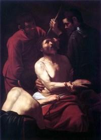 La coronación de espinas - Caravaggio