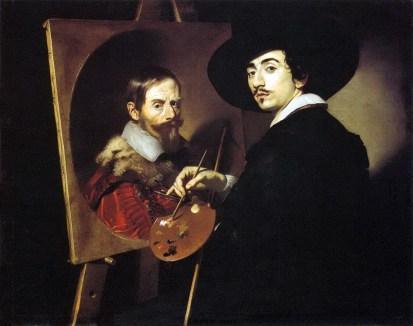 Retrato doble de Nicolás Regnier y Vincenzo Giustiniani