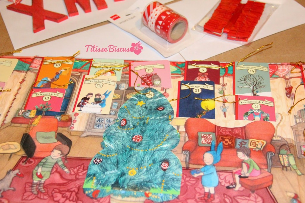 Calendrier Avent Balthazar.Noel 2014 Calendrier De L Avent Home Made Titisse Biscus