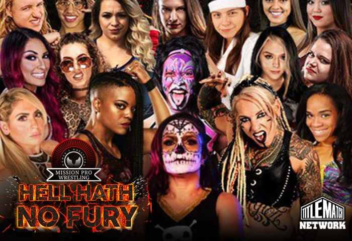 Mission Pro Wrestling Hell Hath No Fury iPPV Livestream Replay Title Match Network