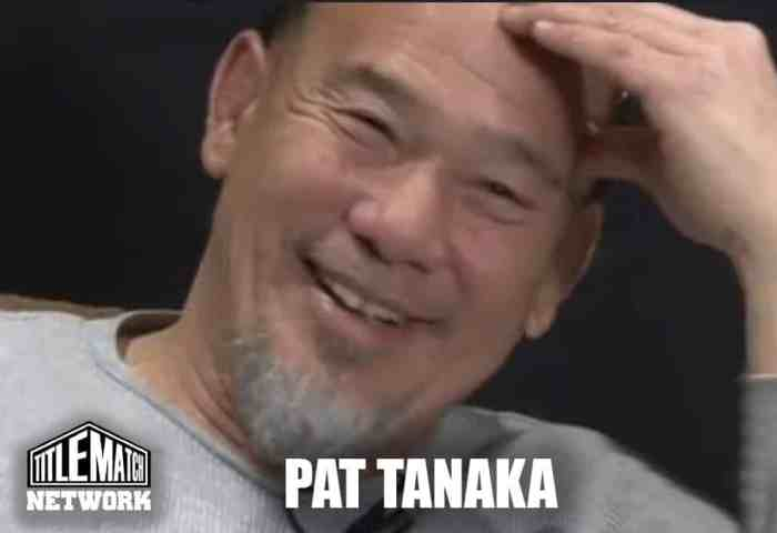 Pat Tanaka Shoot Interview 1200x675 Title Match Network New