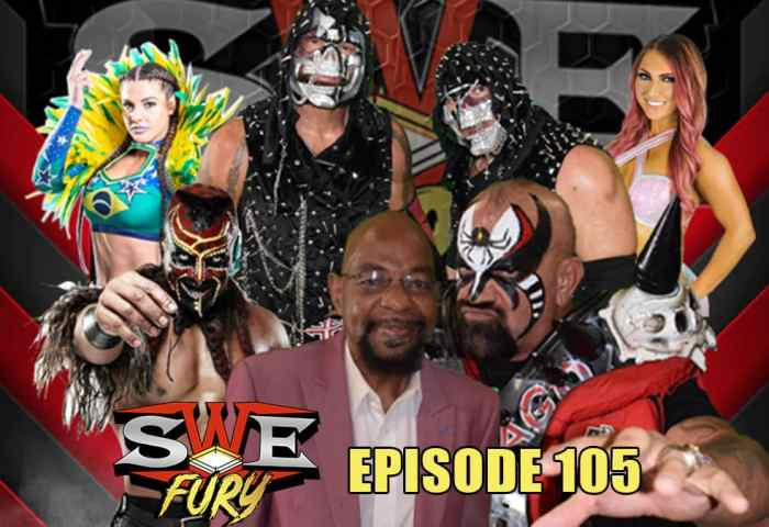 In this episode of SWE Fury, Brent McKenzie battles Tim Storm in this main event! Also see women's wrestling action as Miranda Gordy takes on Simply Luscious.