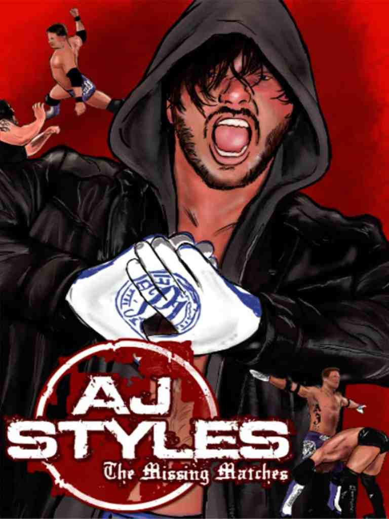 AJ Styles The Missing Matches 18x24 Joe Dombrowski - Title Match Network