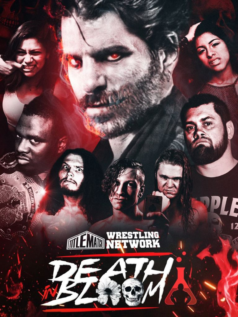 Wrestlers' Laboratory - Death in Bloom 18x24 Poster - Title Match Network