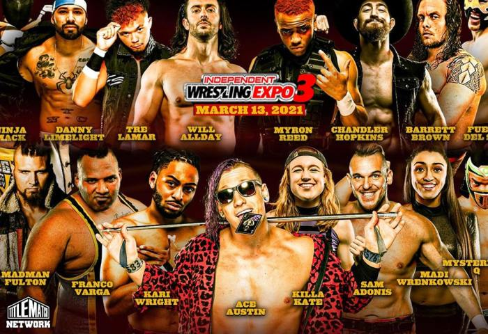 Indy Wrestling Expo 3 Poster Title Match Network 1200x675 small