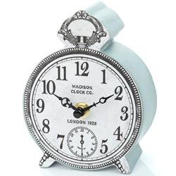 BHS-Small-Vintage-Blue-Edge-Clock-£10