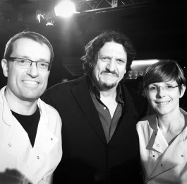 Biltons with Jay Rayner for the MKR filans Title Sussex Magazine www.titlesussex.co.uk