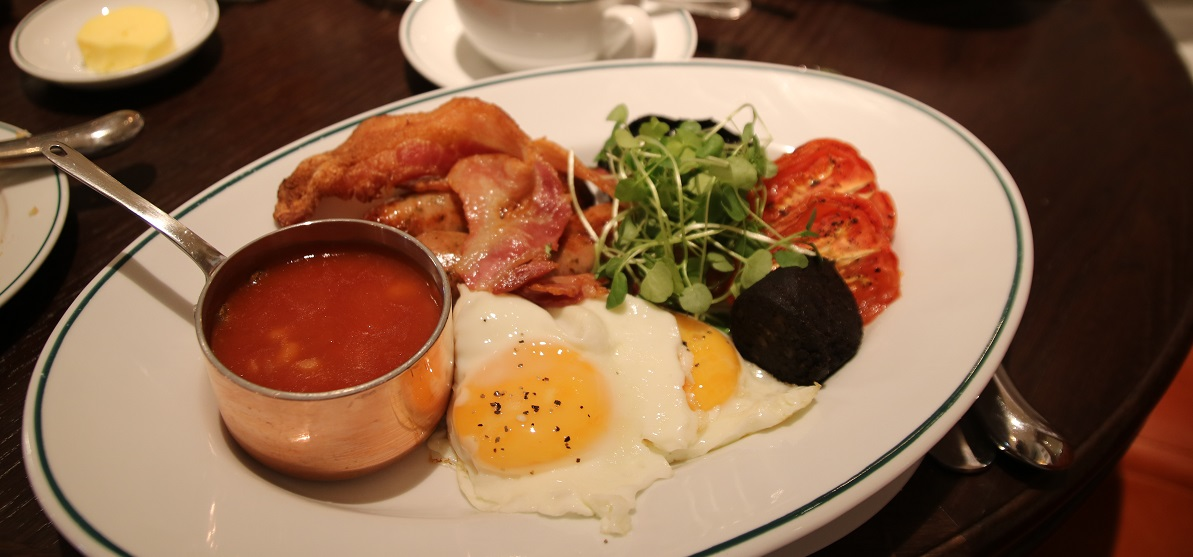 Full English at The Ivy - Title Sussex Magazine www.titlesussex.co.uk