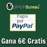Opinion Bureau: Dinero por Encuestas y Gana 6€ GRATIS al registrarte