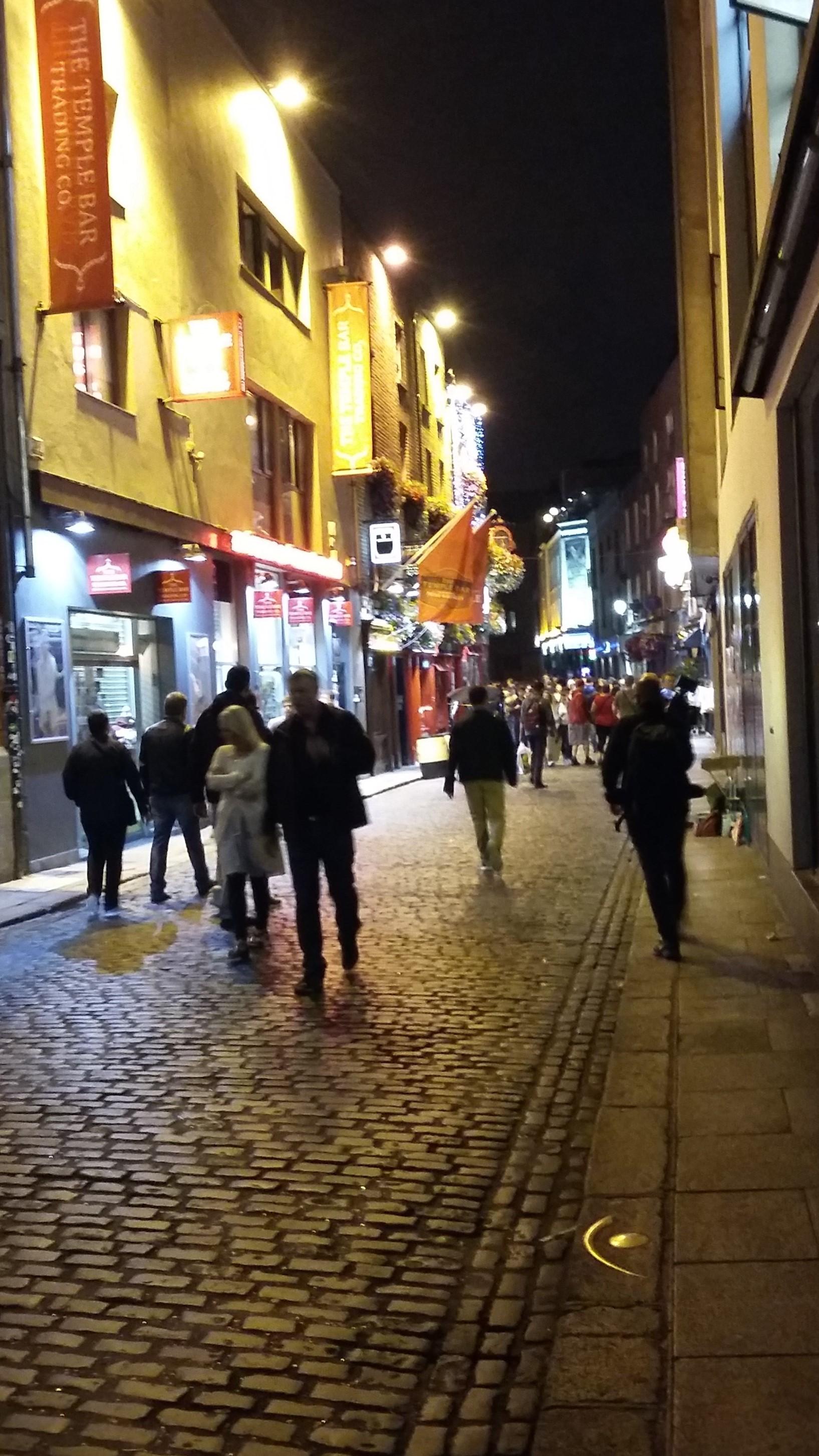 Noche en Dublin