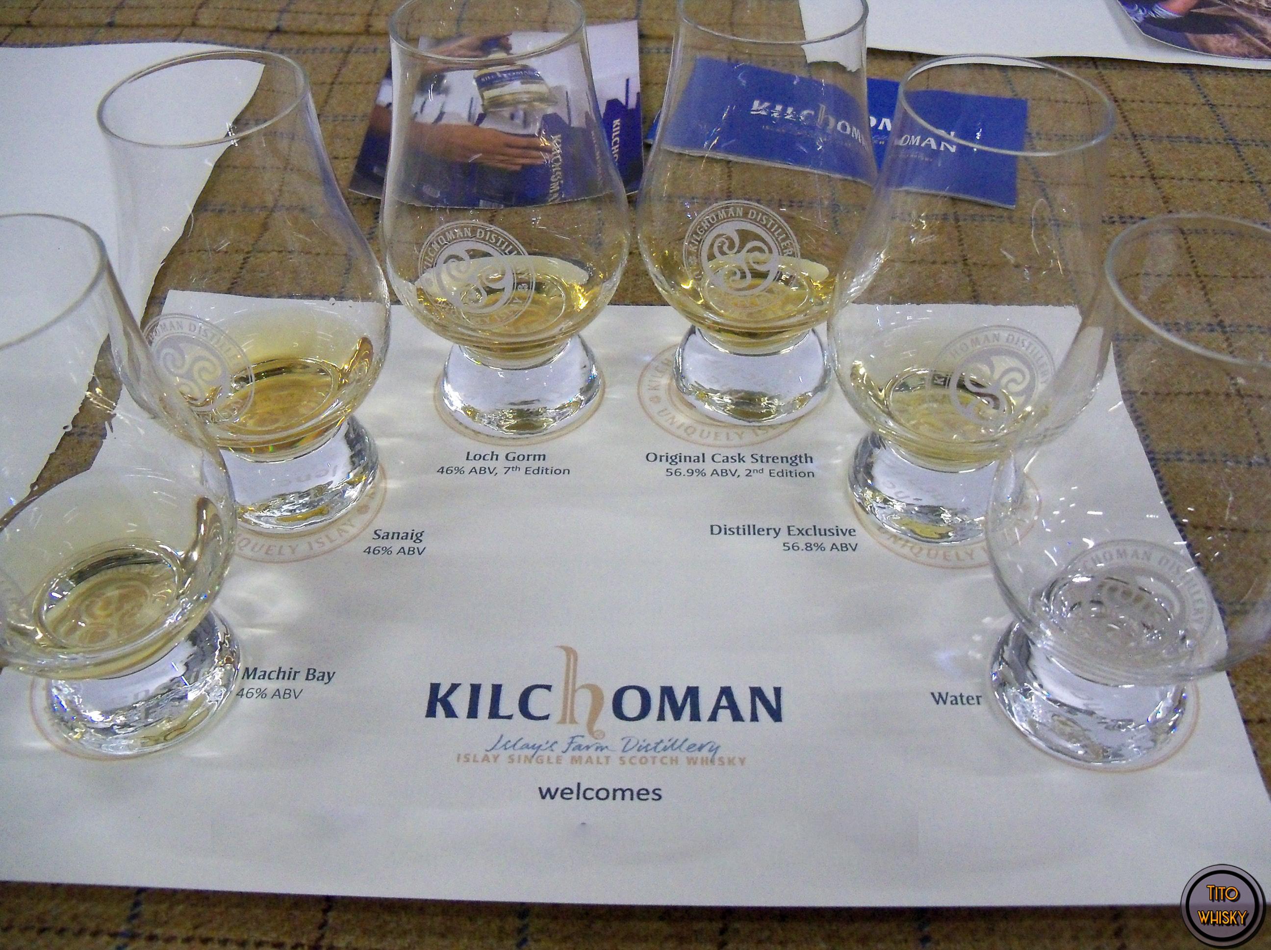 Degustación de whisky Kilchoman