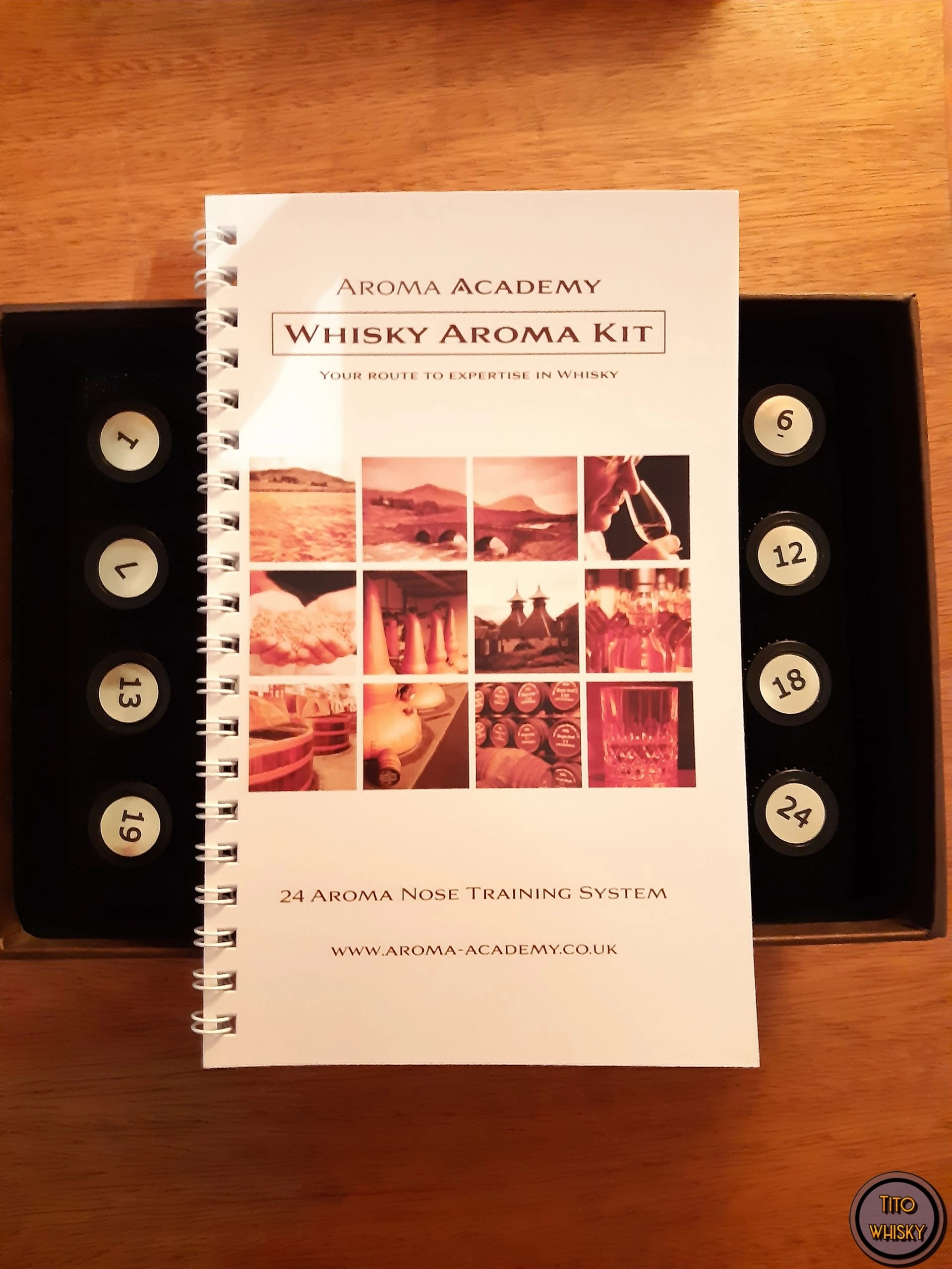 kit de entrenamiento aromático