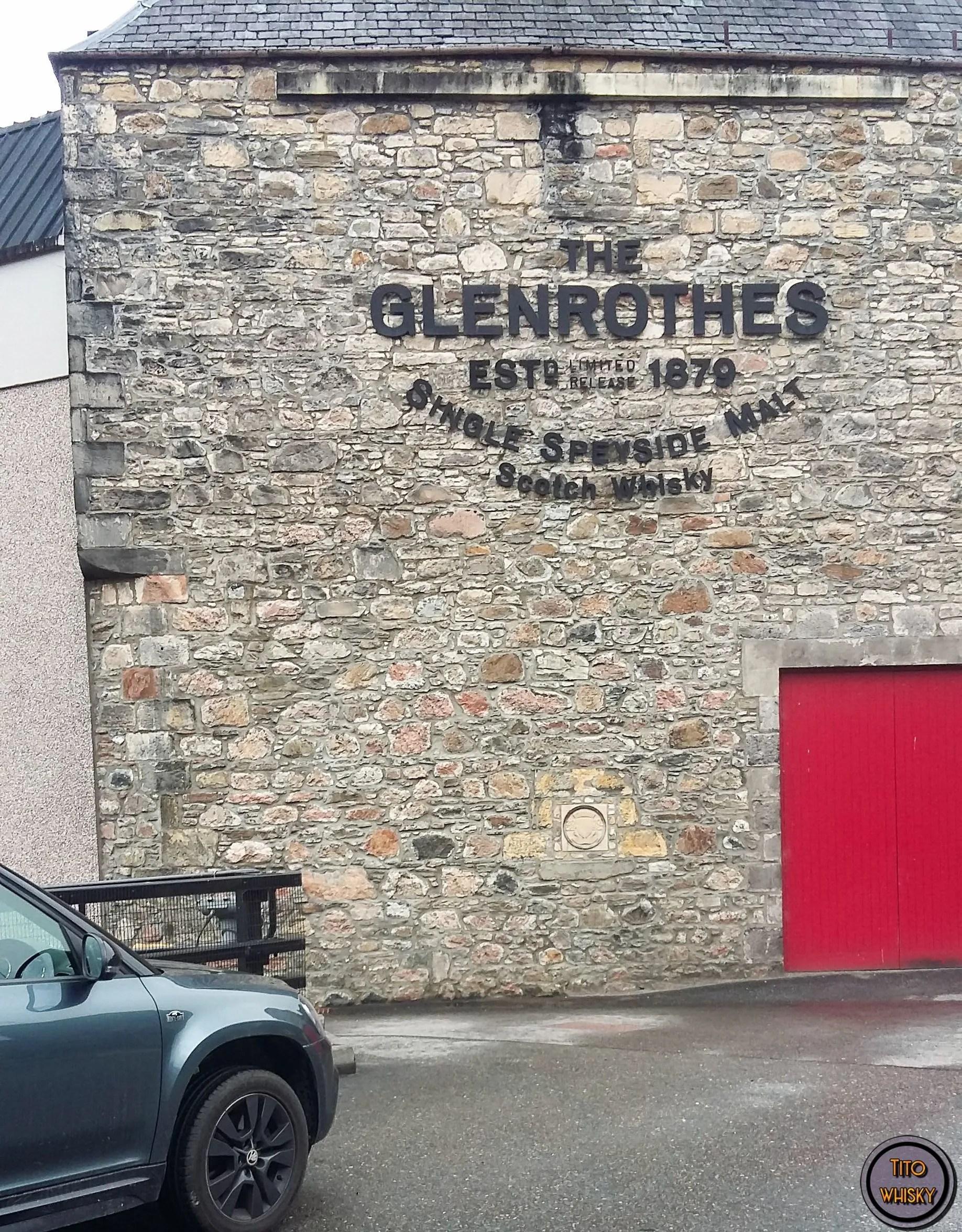Destilería The Glenrothes