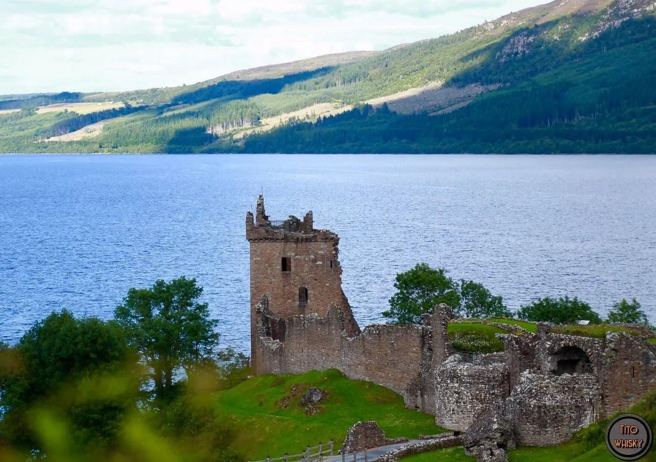 castillo Urquhart en loch ness