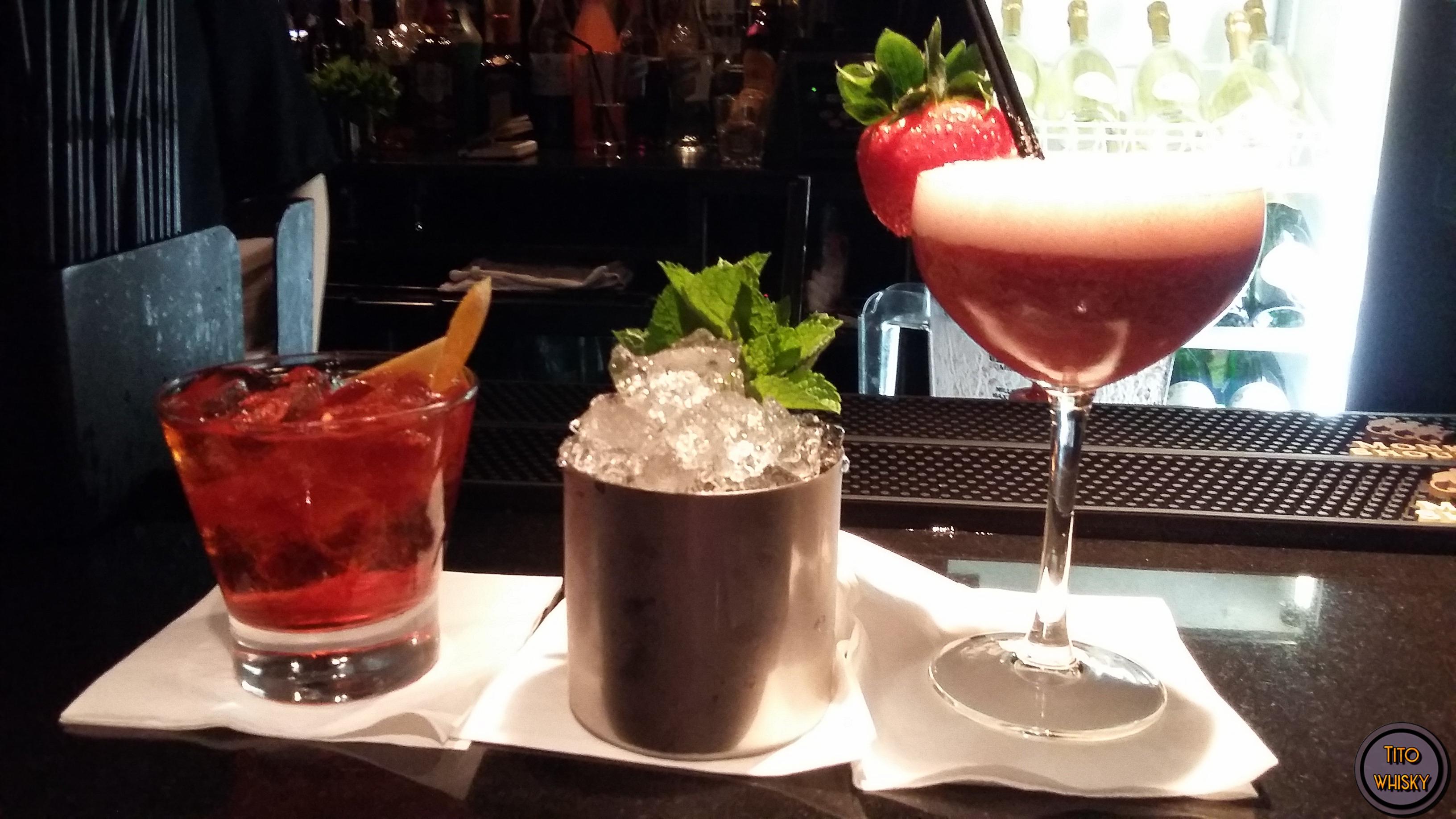 Cocktails en Aberdeen