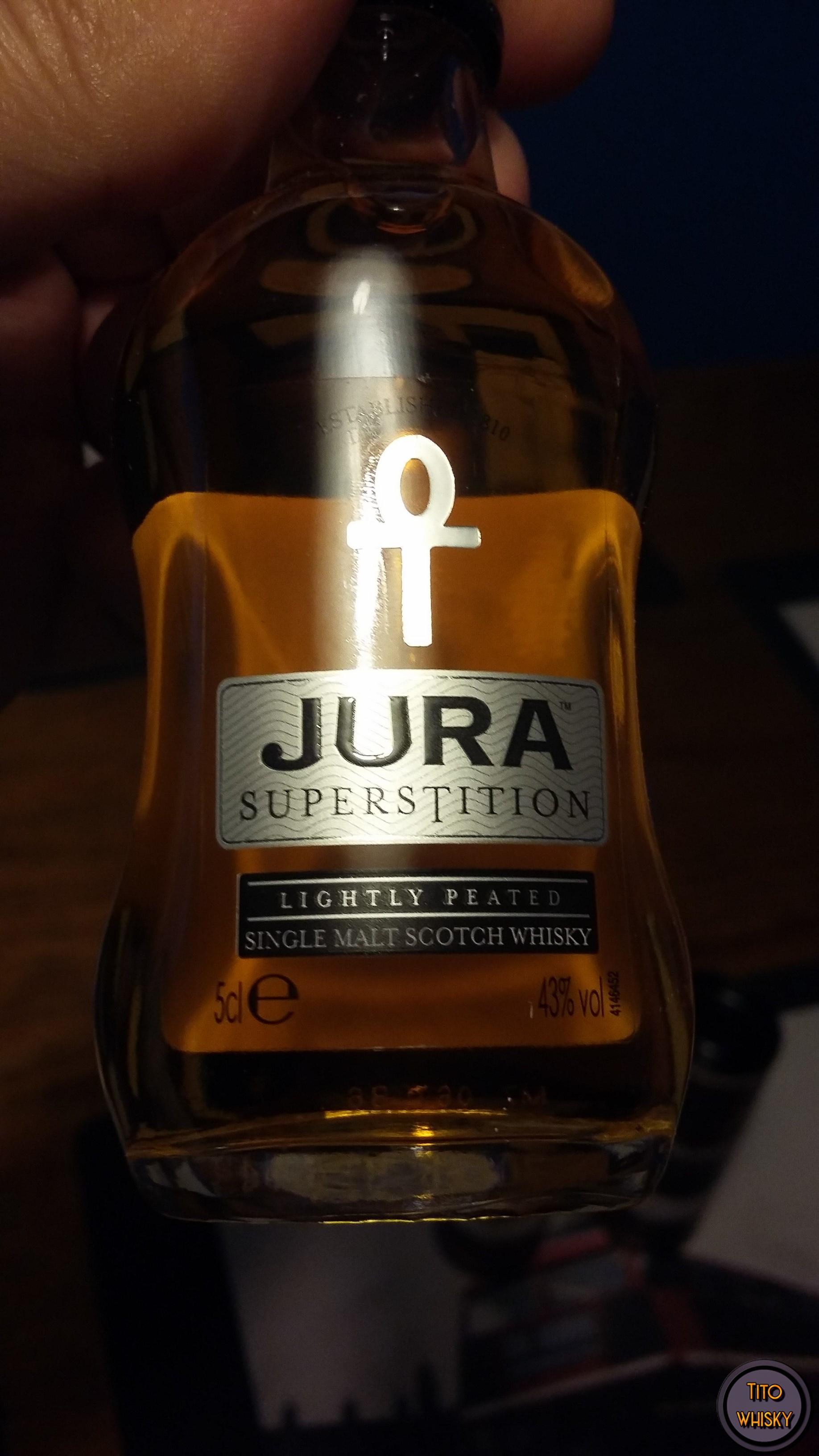 Whisky Jura Superstition