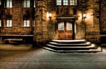 Queen's University, Kingston, Ont. Douglas Library building