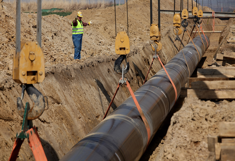 OPAL Pipeline To Connect To Baltic Sea
