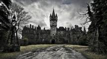 Chateau Miranda - Celles, Belgium. The castle was originally built by French aristocrats fleeing the revolution. During and after World War II, Miranda Castle was used as an orphanage. It was abandoned in 1980, with the family refusing to allow authorities to care for the structure. Because of its past, this haunting castle remains a favourite amongst ghost hunters.