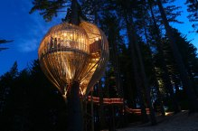 Yellow Treehouse Restaurant This restaurant in Auckland, New Zealand, offers you an amazing dining experience: the restaurant seems to be organically wrapped around the tree and is able to host up to 18 guests at a time. (Designed by: Peter Eising & Lucy Gauntlett)