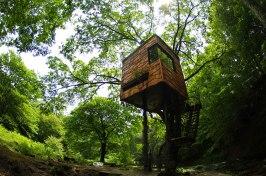 """Treehouse by Takashi Kobayashi (Japan) Designed by Takashi Kobayashi, the Tree House People seek to """"break down the feeling of separation that exists between humans and nature."""" (Designed by: Takashi Kobayashi)"""