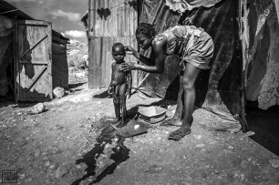 Photo by Bahare Khodabande, Jan 11 2015, Haiti.