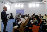 Majid Movasseghi Workshop for talents and young filmmakers in DIFF17