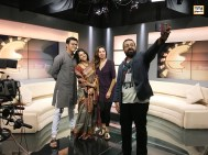 Morning Live TV show interview with Pooyan Tabatabaei