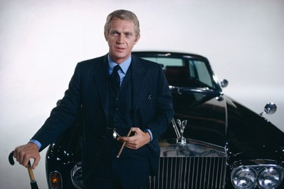 Steve McQueen in The Thomas Crown Affair, a stylish 1968 crime film. استیو مک کوین