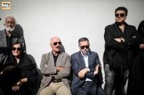 سعید راد در مراسم وداع با ناصر ملک مطیعی - عکس از مجید فراهانی