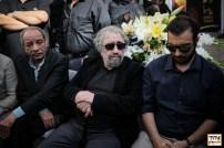 پولاد کیمیایی، مسعود کیمیایی و داریوش فرهنگ در مراسم وداع با ناصر ملک مطیعی - عکس از مجید فراهانی