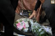 مراسم وداع با ناصر ملک مطیعی - عکس از مجید فراهانی