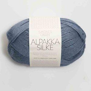 Kjøp Sandnes Alpakka silke med belte Garn 6052