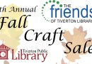 Fall Craft Sale – Saturday, October 19th
