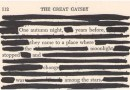 Sharpie Black Out Poetry