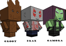 Cubee Craft: Guardians of the Galaxy Edition