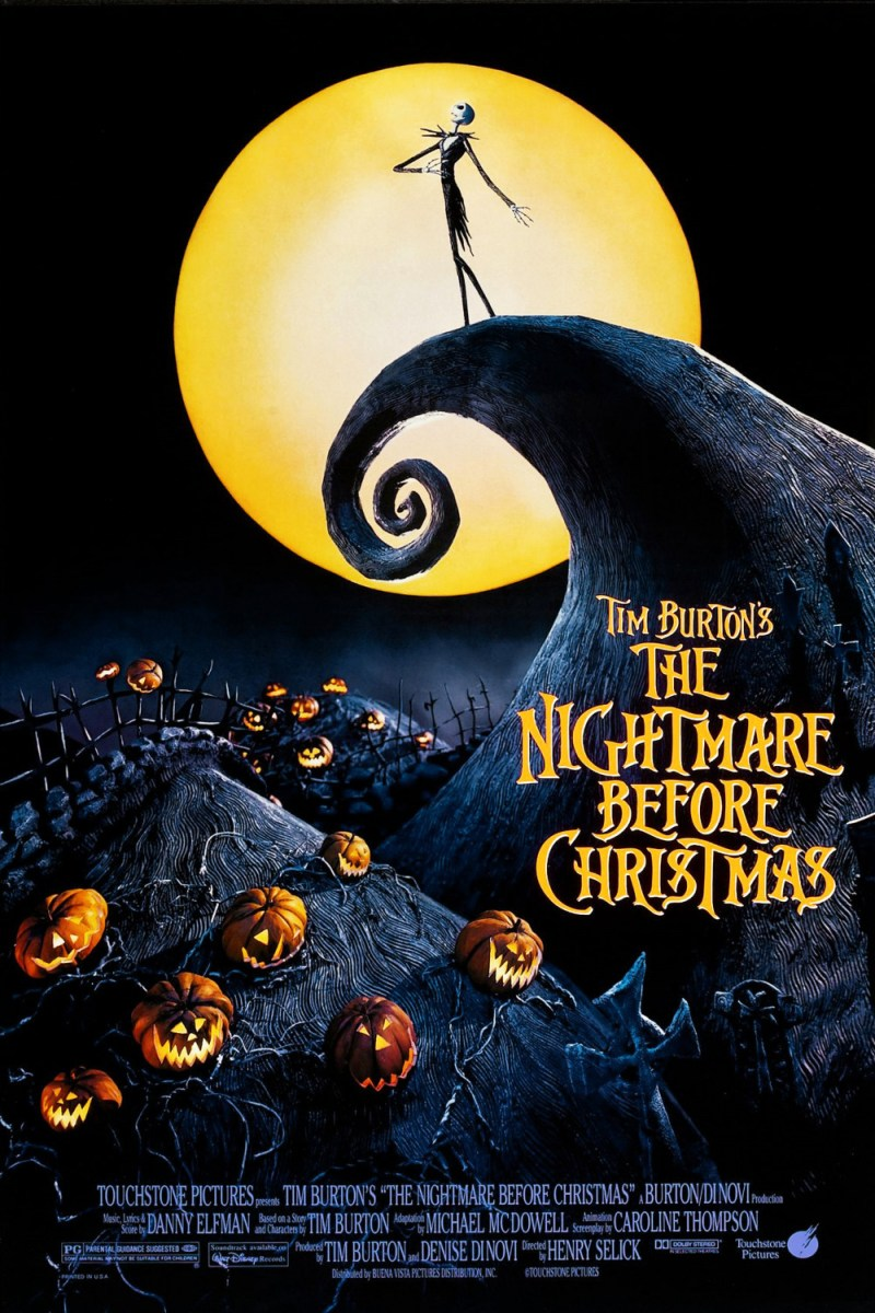 Action Packed Movies: Nightmare Before Christmas – Tiverton Public ...
