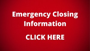 Emergency Closing Information CLICK HERE
