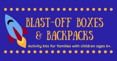 Blast-Off Boxes & Backpacks
