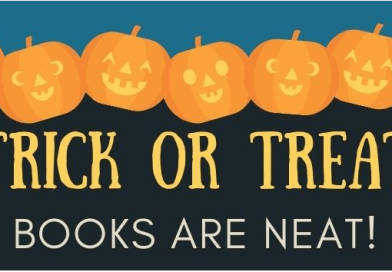 trick or treat books are neat