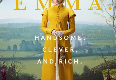 Emma movie cover three people in period costume posing