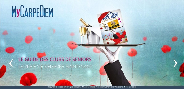 MyCarpeDiem - Guide des Clubs Seniors - France