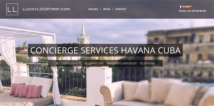 Tourisme – Voyage – Conciergerie – Cuba