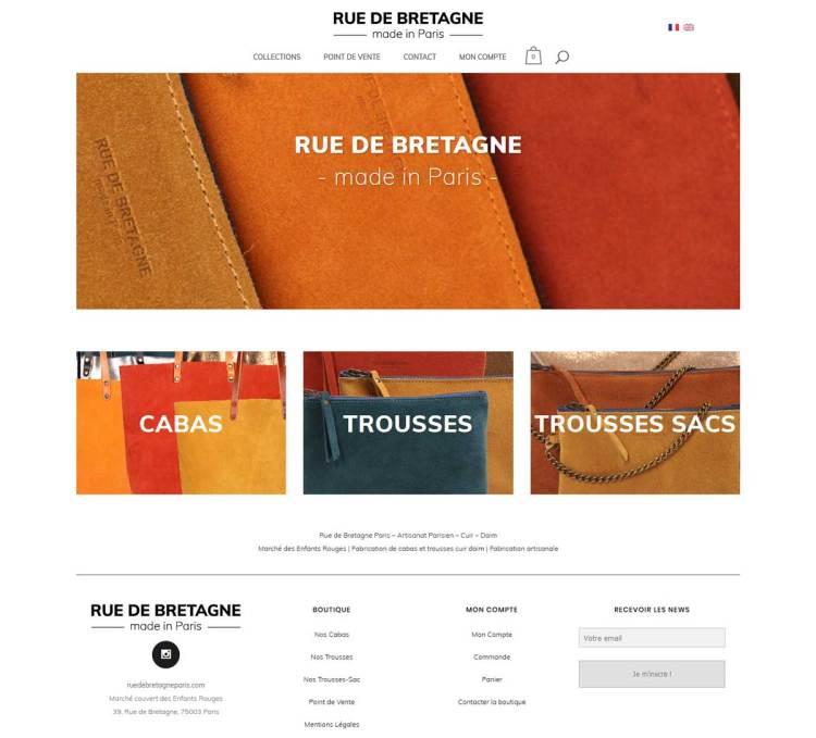 Rue de Bretagne – Paris